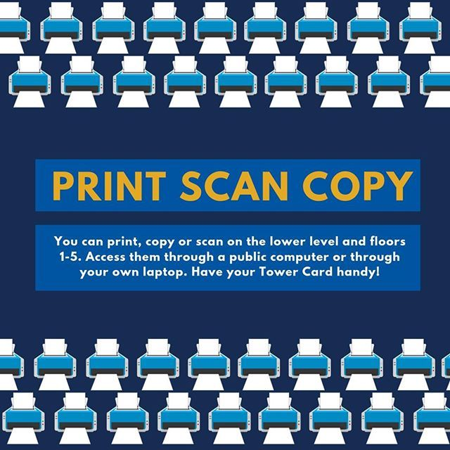 Need To Print Off Your Final Paper You Can Print Copy Or Scan On The Lower Level And Floors 1 5 You Can Access Them Through A Public Com Lowes Public Library