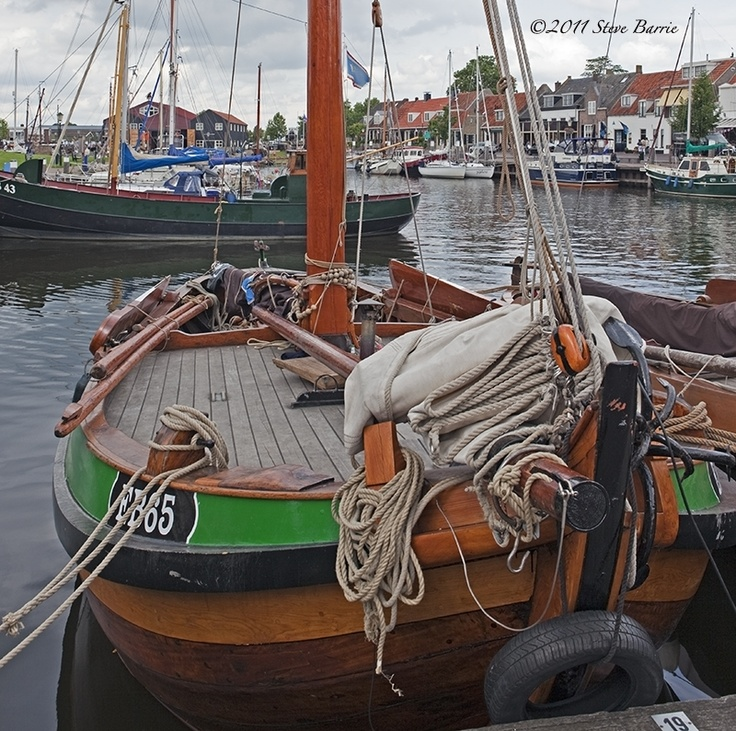 A dutch boat in Elburg, The Netherlands