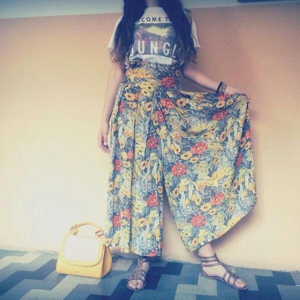 Outfit of the school #summer #floreal