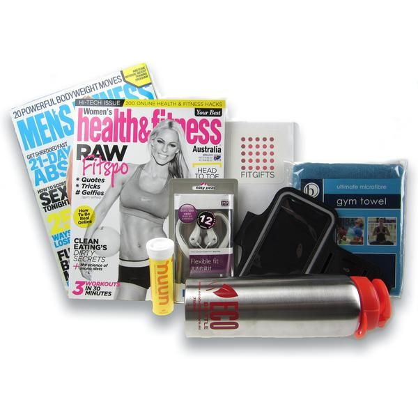 Provide motivation with practical fitness products for a loved one wanting to kick start their fitness with the Kick Starter Fitness Gift Box. All Gift wrapped. $60
