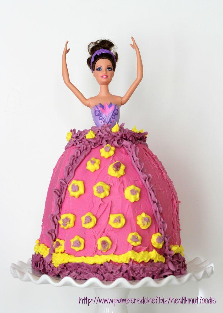 homemade doll cake! so cute!