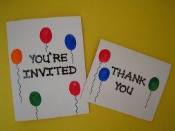 Best Homemade Birthday Invitations Ideas Jpg 253x190 Cute Party