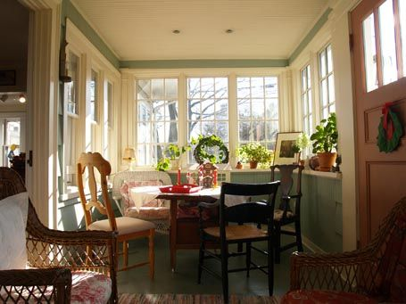 Enclosed Porches | ... Studio - House Enthusiast - Design snapshot: Engaging enclosed porch