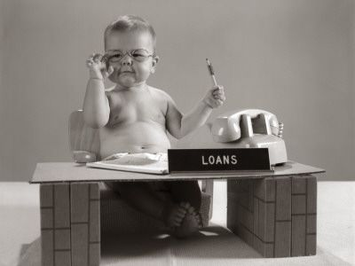 No. 65: Loan Officer: Cute Baby, Plays Loan, Desks Plays, Baby Loan, Black And White, Art Prints, Love Life, Loan Offices, 500 000 Posters