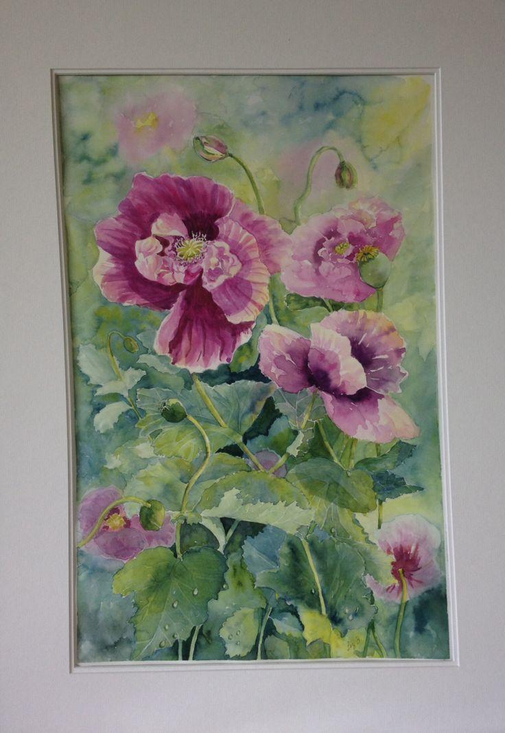 'Poppies' by Liz Butcher