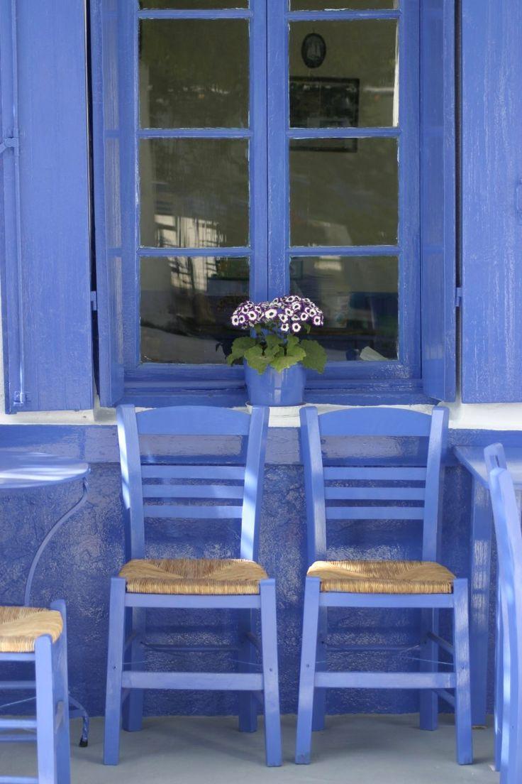 A study in blue.. Meganissi Island, Greece