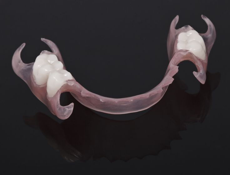Lower Flexible Partial Denture Need Dentures Visit
