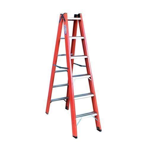 Escada Tesoura Duplo Acesso Fibra De - Shoptime.com