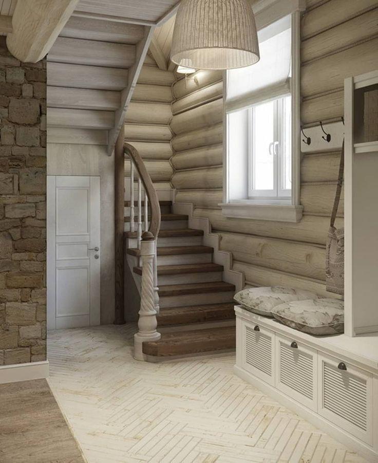 Дизайн интерьера дома в п.Зеленое: Коридоры, прихожие, лестницы в . Автор - MJMarchdesign