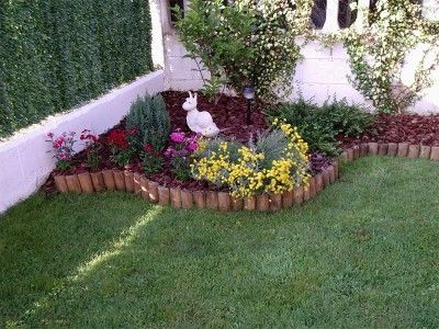 11 best jardines images on pinterest garden decorations for Jardines de casas pequenas