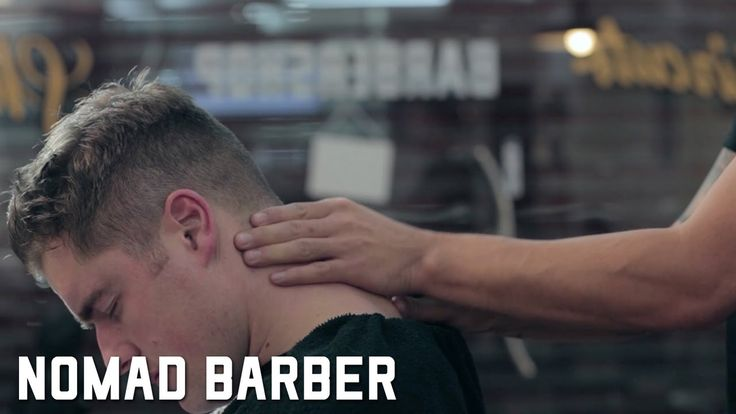 Nomad Barber Head and Neck Massage ASMR - London