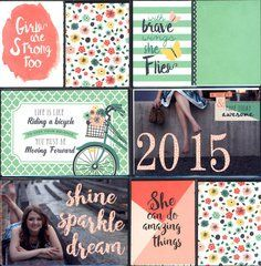The Just Be You Collection from Echo Park is perfect for pocket scrapbooking. Find it today at Scrapbook.com.
