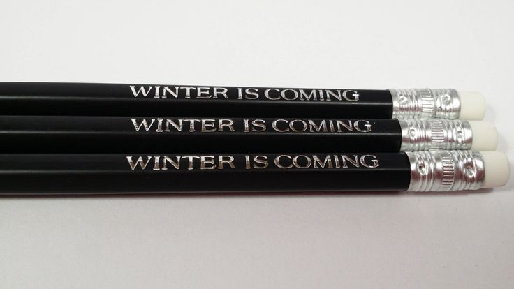 Games of Thrones Lord Winterfell John Snow quotes for father's day/graduation OOAK (5.25 USD) by AdoptAPencil