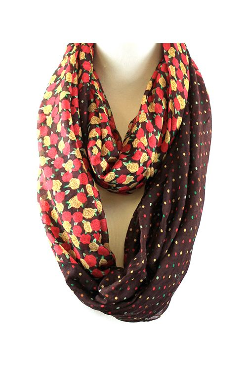 Autumn Colors Infinity Scarf