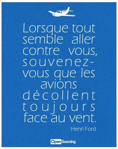 Inspirational Quote: Ah bon ?…