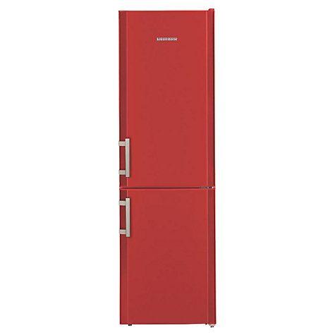 Buy Liebherr CUFR3311 Freestanding Fridge Freezer, A++ Energy Rating, 55cm Wide, Red Online at johnlewis.com