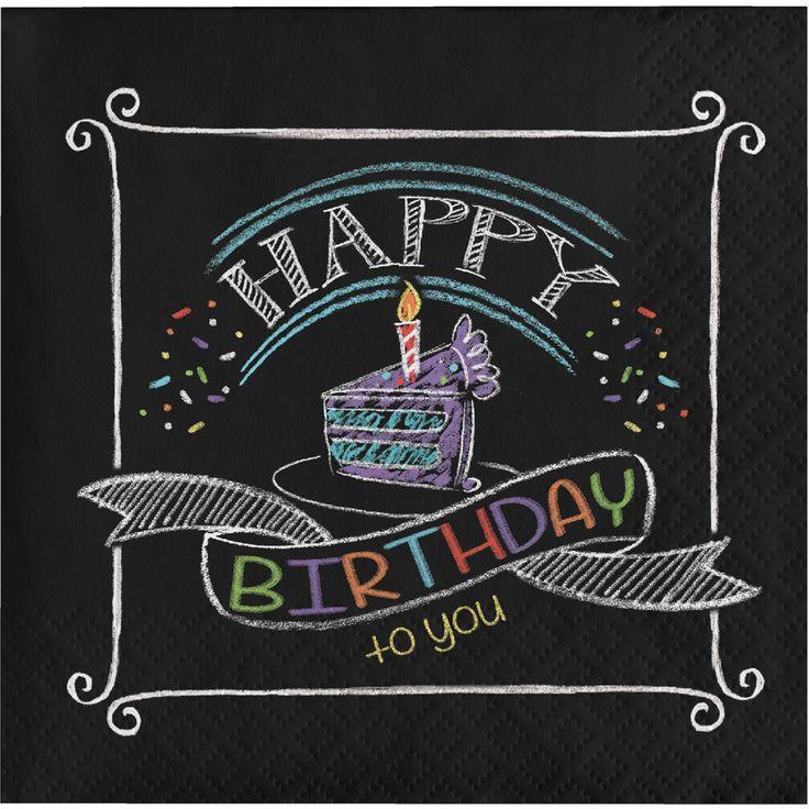 Поздравление на доске с днем рождения