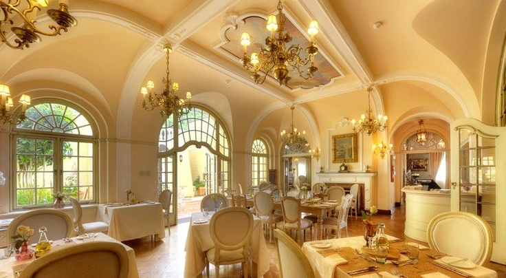 Casa Labia was built in the 1920s and is 18th century inspired. Situated in Muizenberg, Cape Town