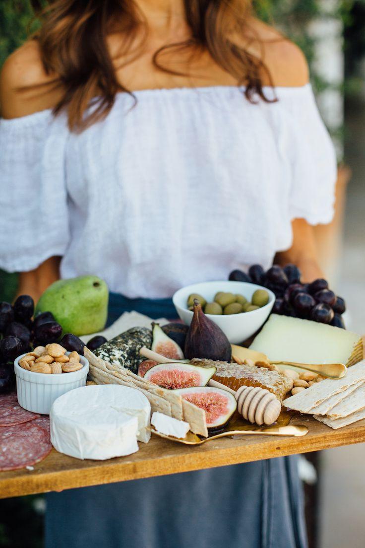 the prettiest cheese board