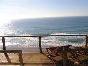 Algarve - huis (4pers) direct aan zee met mooi uitzicht zelfs vanaf de slaapkamers. Casa Ver Mar, Praia da Arrifana