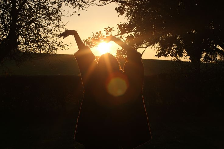 #Fall #sun #light #silhouette #bokeh
