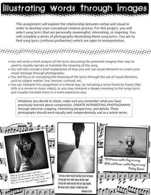 Digication e-Portfolio :: Erin McGinnis :: Illustrating Words Through Images