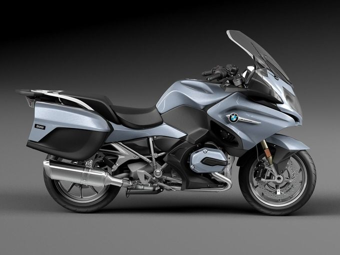 Ready to render at 3dsmax BMW 1200 RT 2015