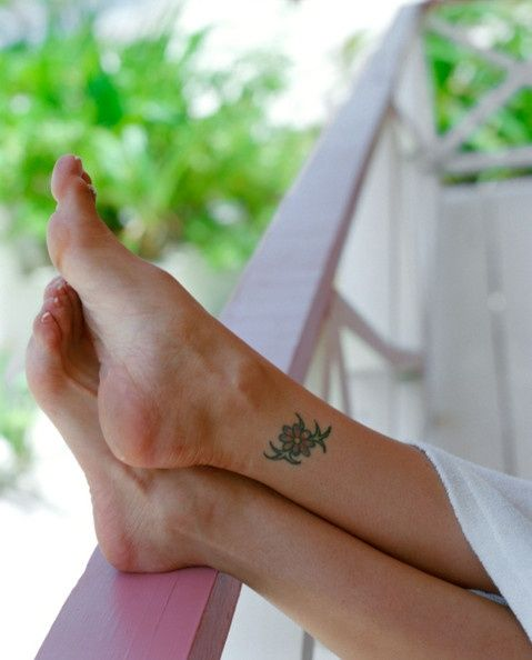 Ankle Tattoos for Women for a Sexy You!   Glam Bistro