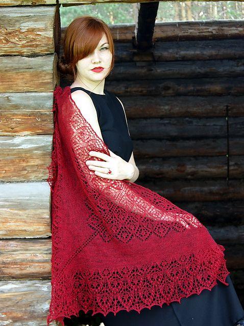Ravelry: Sofia Shawl pattern by Lyubov Shalnaya free pattern