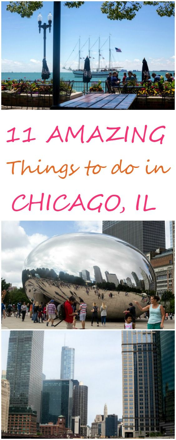 11 Amazing Things to do in Chicago, IL - If you are looking to go for a long week or even for a short weekend trip to Chicago, here are the top 11 things to do in Chicago! Contains the best eats, where to see the skyline, and which neighborhoods to visit!