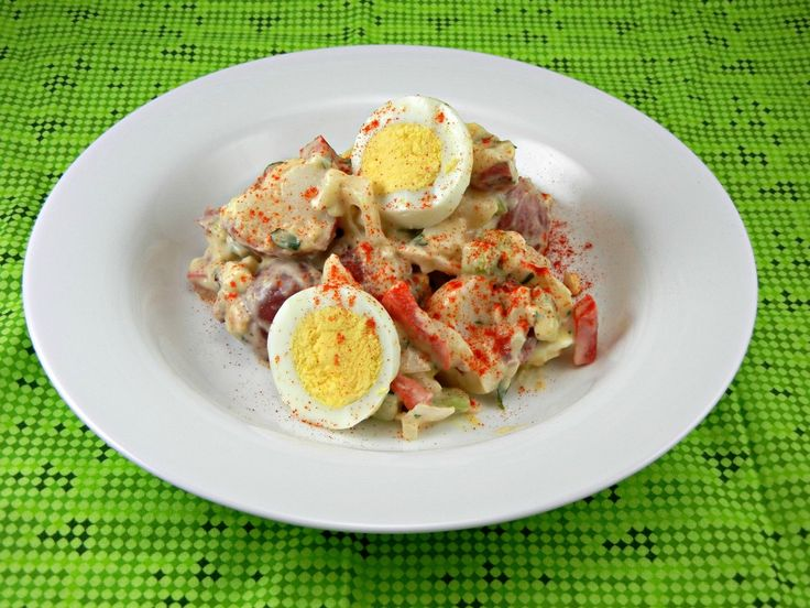 1000 images about easy salad recipes on pinterest for How to make homemade deviled egg potato salad