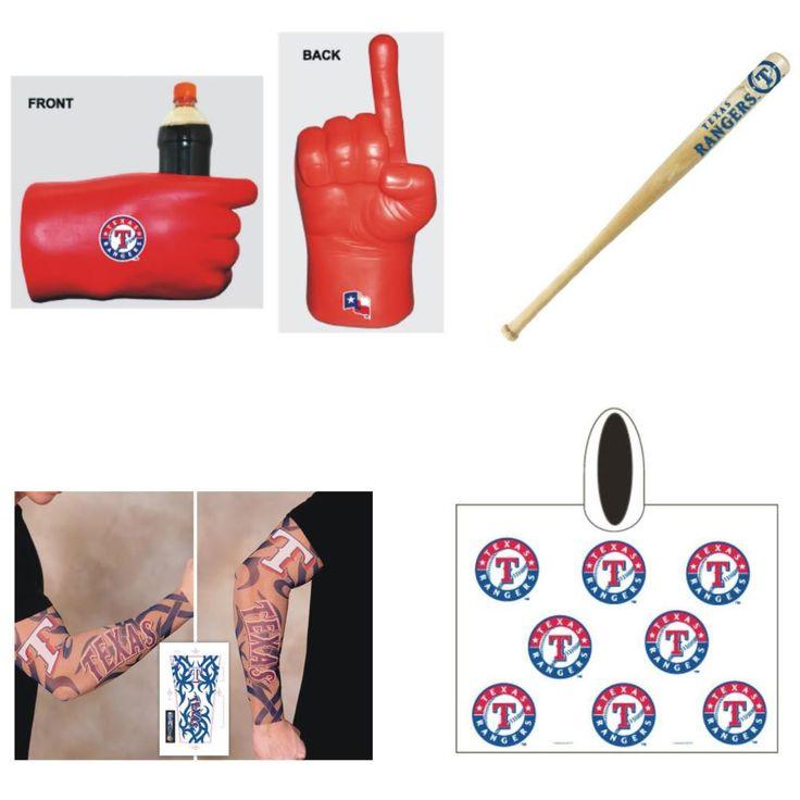 Texas Rangers MLB Gameday Fanpack, Durable