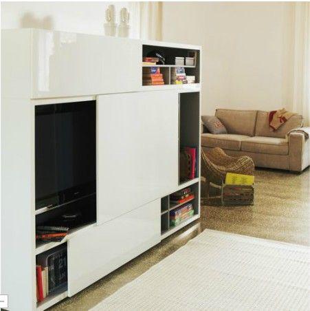 meuble avec portes coulissantes alinea 599 sjour pinterest tv cabinets - Alinea Meuble Tv Porte Coulissante