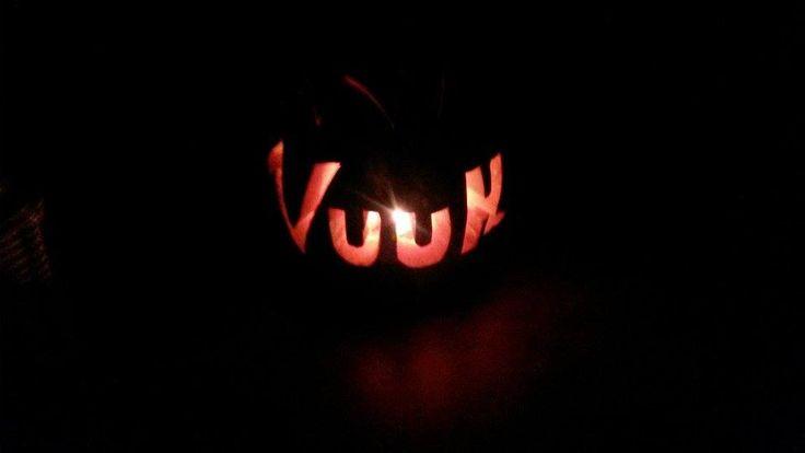 In the dark #dark #halloween #pumpkin #carving #office #fun #Vuuh #Aarhus