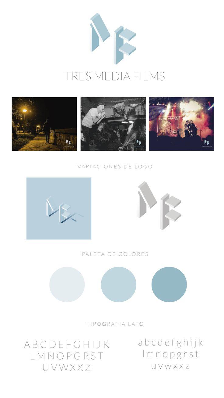 Estudio presente para 3 media films  Diseño Cordoba Argentina