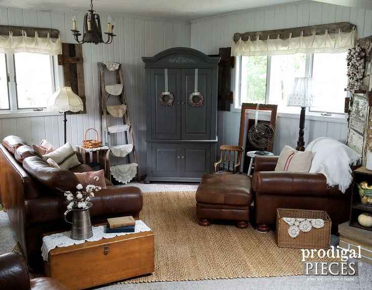 Farmhouse Family Room with Natural Jute Area Rug | Affordable Area Rugs featured…