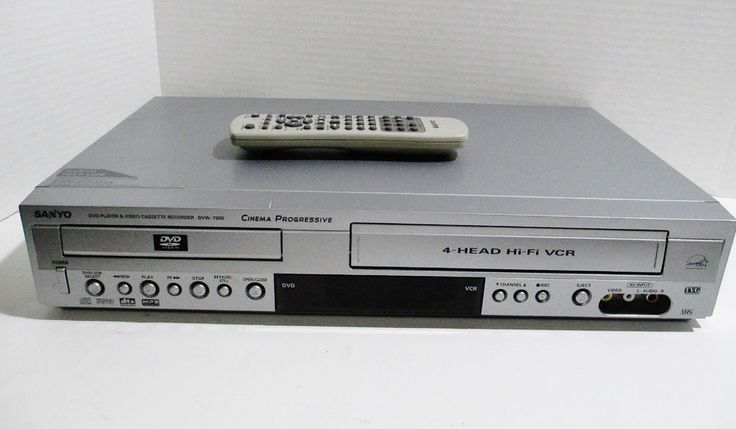 Sanyo DVD Player Video Cassette Recorder Model DVW-7000 w/ Remote - Tested Works #SANYO..... Visit all of our online locations..... www.stores.ebay.com/ourfamilygeneralstore ..... www.bonanza.com/booths/Family_General_Store ..... www.facebook.com/OurFamilyGeneralStore