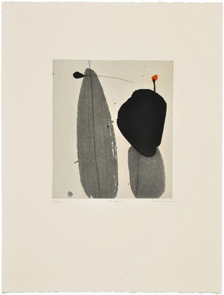 """Zhou Hao, """"No.174-f"""", Drypoint"""