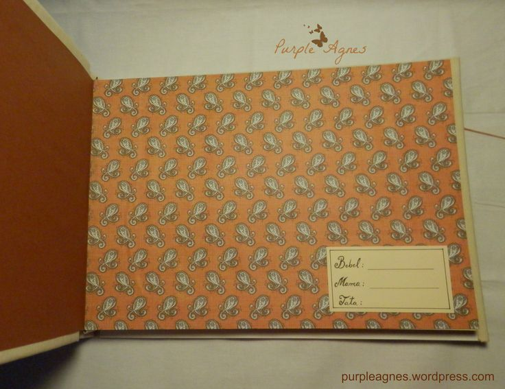 Handmade Album for a baby, Hard Cover, picture 4