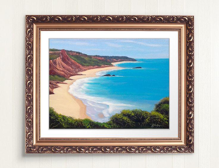 Pintura (painting oil) Praia de Tambaba - Paraíba