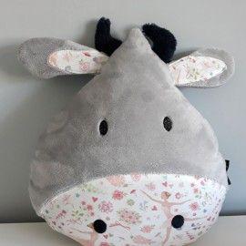 Poduszka krówka + imię dziecka