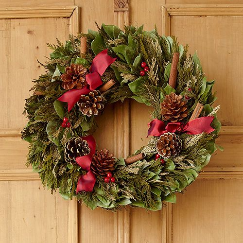 17 best images about deck the halls on pinterest vintage style christmas trees and edible - Awesome christmas wreath with homemade style ...