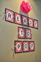 Ready to pop banner