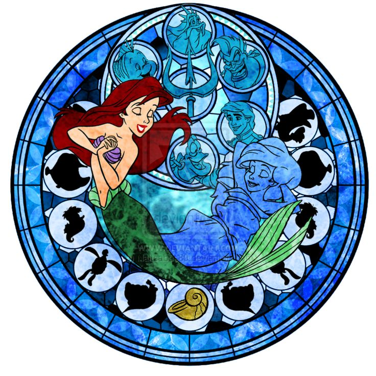 Google Image Result for http://images5.fanpop.com/image/photos/31300000/Ariel-Stained-Glass-disney-princess-31394788-800-800.png