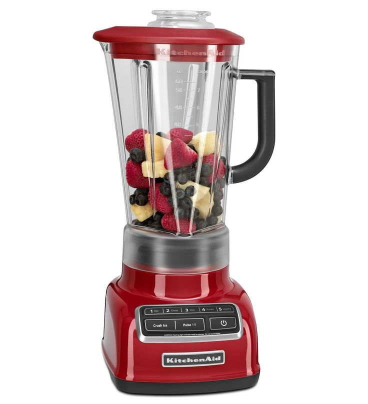 KitchenAid® 5-Speed Diamond Blender (KSB1575ER Empire Red) | for all those smoothies and groothies and in pink only