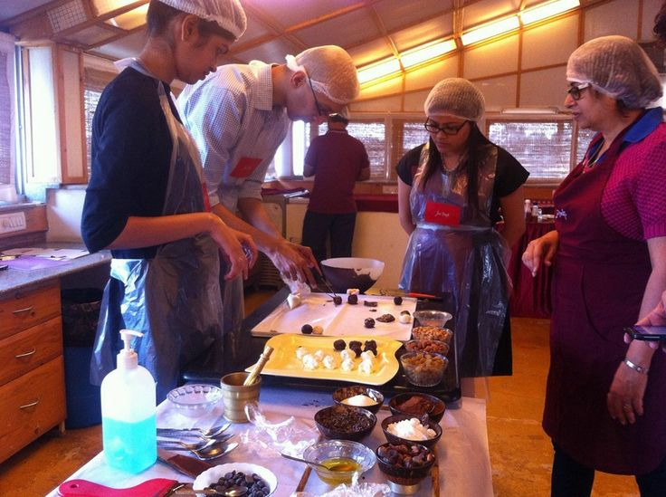 Banani Das Dhar making some Delicious Belgian Chocolate Truffles, last  Saturday! #ChocolateTour