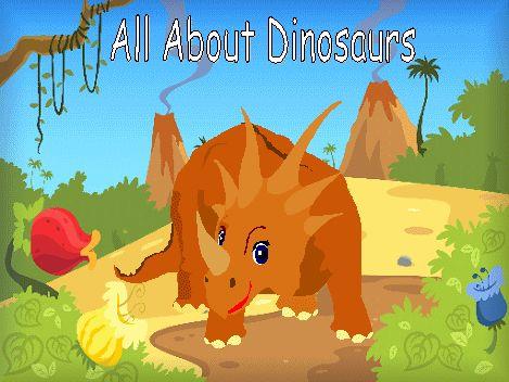 Tel banner tot en met 10 met dinosaurussen