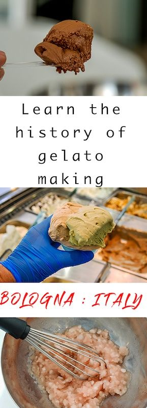 The gelato museum Bologna - how to make gelato and the secrets of making gelato dating back to the 11th century. Take a tour and make some tasty gelato too.