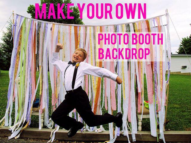123 best photo booth ideas images on pinterest birthdays garlands diy photobooth backdrop solutioingenieria Choice Image