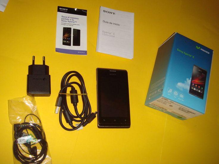 Telefono Movil SONY XPERIA E movistar smart phone-buen estado!!